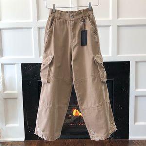 NWT CARMAR LF Baggy Grinded Cargo Pants Sz 8 (25)